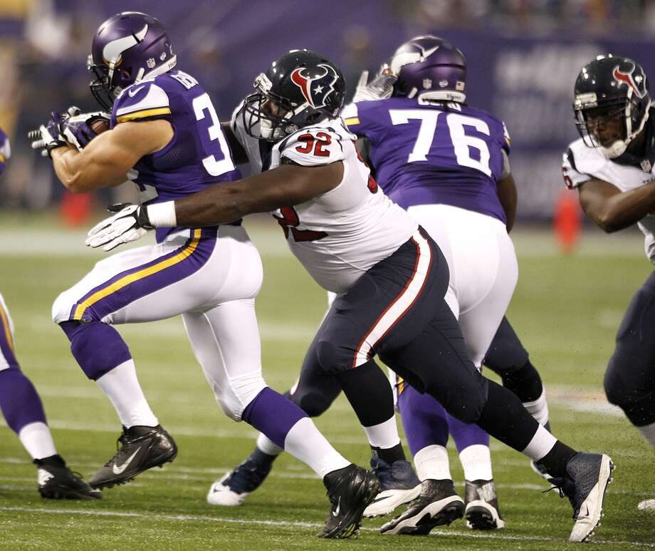 Earl Mitchell, DL  Performance-based bonus: $88,917 Photo: Brett Coomer, Houston Chronicle