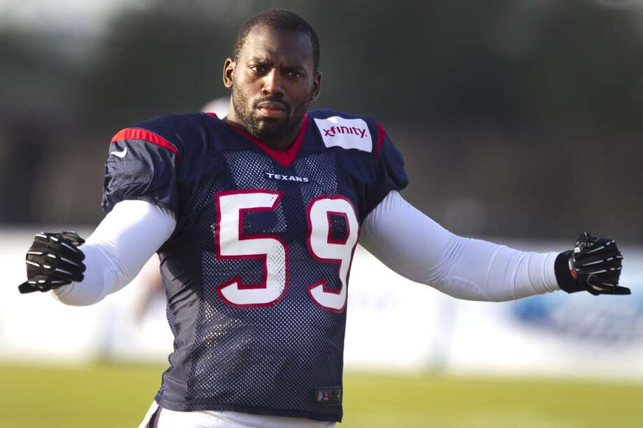 Whitney Mercilus, LB  Performance-based bonus: $70,805 Photo: Brett Coomer, Houston Chronicle