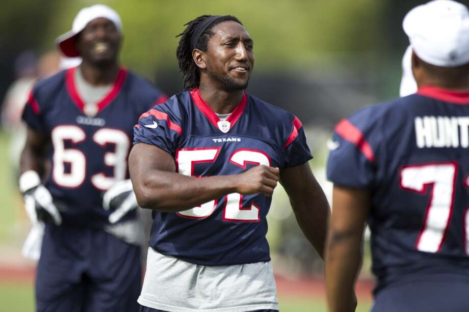 Tim Dobbins, LB  Performance-based bonus: $9,738 Photo: Brett Coomer, Houston Chronicle