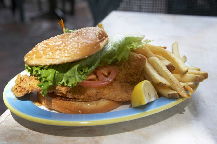 New Hampshire: Beer-battered fish sandwich Photo: Joe Fox, Getty Images