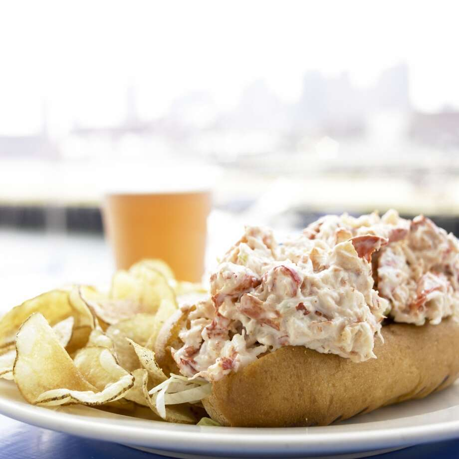 Maine'sunhot lobster roll, which was Zagat's pick for this state. Photo: Heath Robbins, Getty Images
