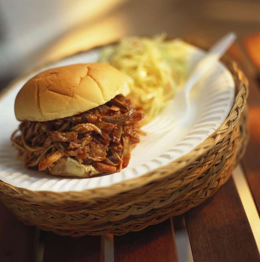 North Carolina: Chopped pork. Photo: 101607.000000, Getty Images/StockFood