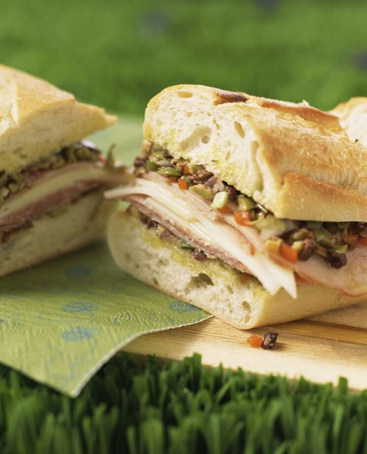 Louisiana: Muffaletta. Photo: Alison Miksch, Jupiterimages