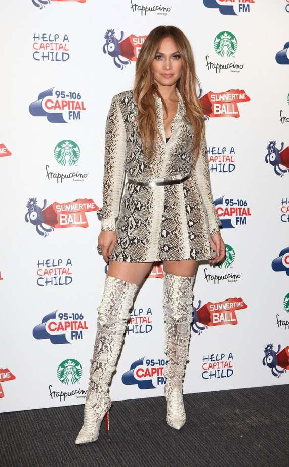 Jennifer Lopez is a repeat animal print offender. Photo: Tim Whitby, Getty Images