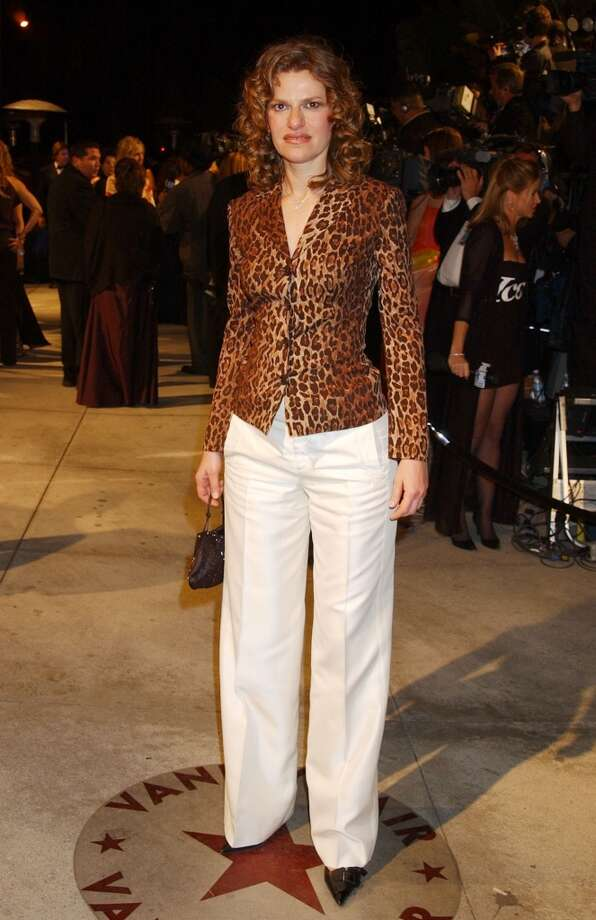 Sandra Bernhard's expression in this photo pretty much sums up how her button-up and white trousers combo makes the rest of feel. Photo: Gregg DeGuire, WireImage