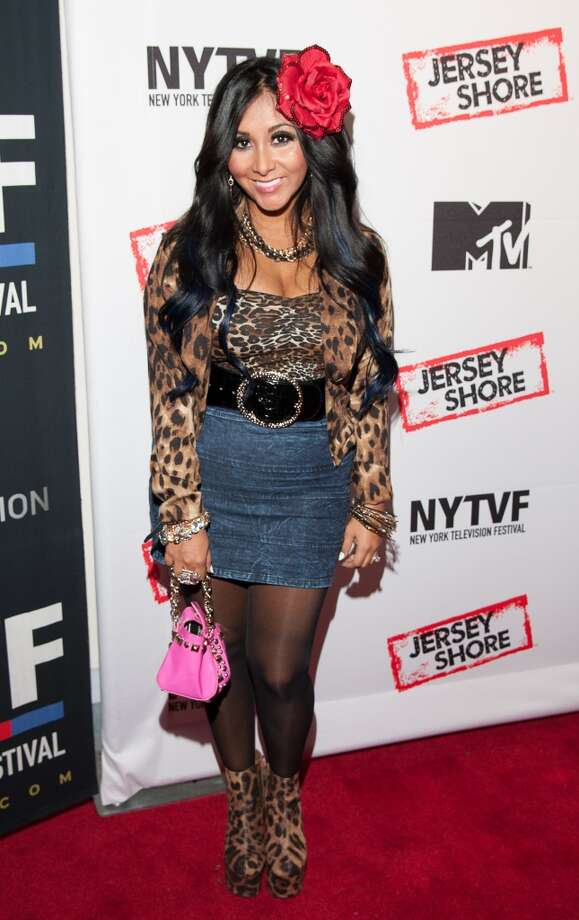 We've seen Snooki in worse getups, but still. Photo: Dave Kotinsky, Getty Images