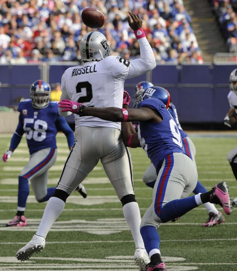 Let's get JaMarcus Russell out of the way  — the world has already voted him the worst of the worst. It's fun to bag on him, but let's focus on the myriad other possibilities. Photo: Bill Kostroun, AP