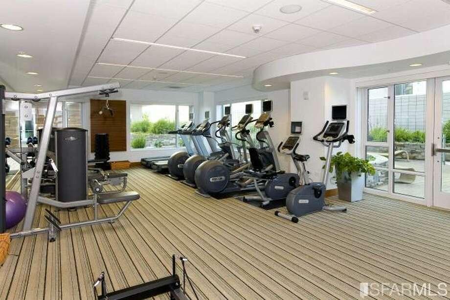 Gym. Photos via James Haywood, Paragon Real Estate Group/Redfin