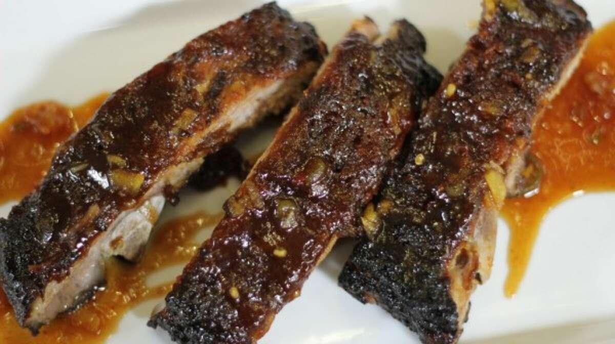 Ribs. Lovely juicy beef ribs.