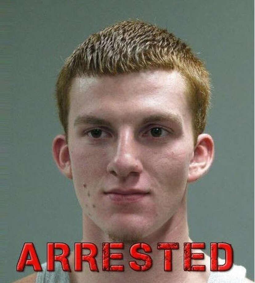 Christopher Kazmir, 20, was arrested in Rosenberg for burglary of a motor vehicle. Photo: Rosenberg Police Department