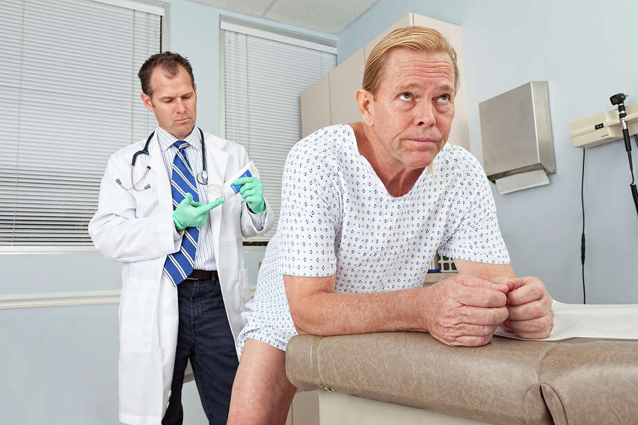 National Prostate Cancer Awareness MonthYep, it's National Prostate Cancer Awareness Month, so go ahead and assume the position. Photo: Terry J Alcorn, Getty Images/Vetta / Vetta