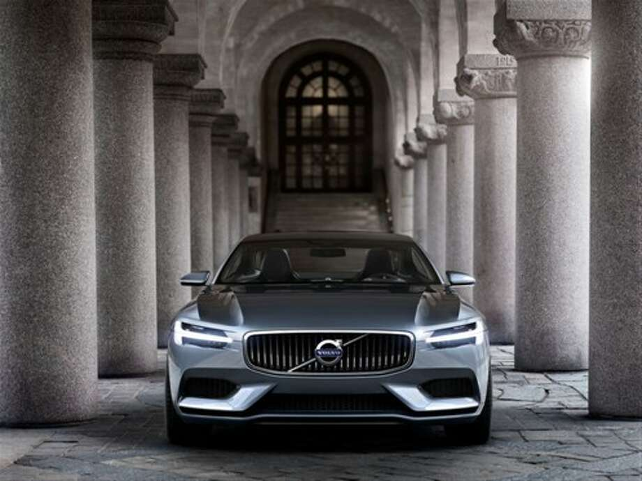 Volvo released photos of a stunning new concept coupe. Photo: Volvo