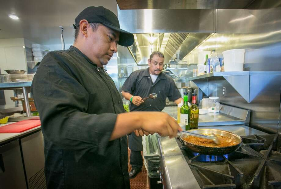 Chef Rafael Bailon makes Fideo at Quinto Sol in Redwood City. Photo: John Storey, Special To The Chronicle