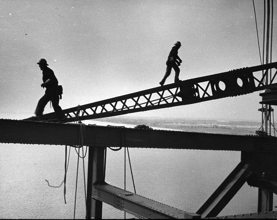 Steel workers, 1951 Photo: Peter Stackpole, Time Life / Time Life Pictures