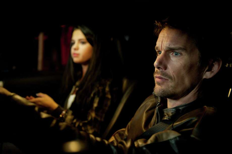 "Selena Gomez and Ethan Hawke star in ""Getaway."" Photo: Simon Versano, Handout / ONLINE_YES"