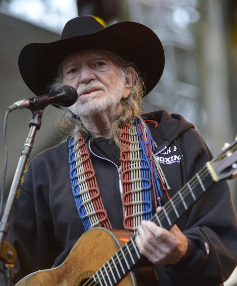 It's Willie Nelson. Photo: C Flanigan, WireImage / 2013 C Flanigan