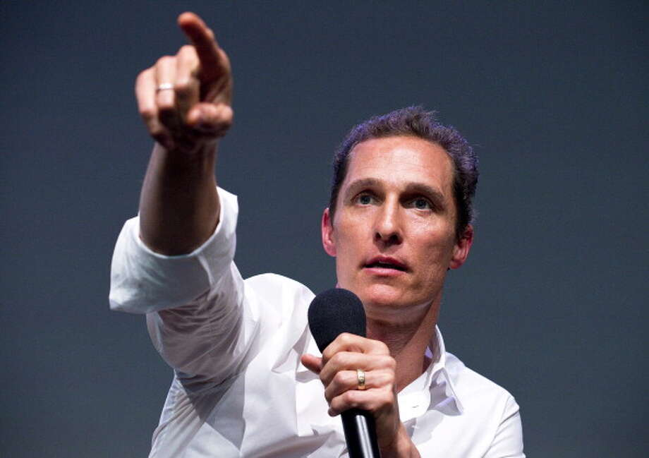 It's Matthew McConaughey. Photo: Debra L Rothenberg, FilmMagic / 2013 Debra L Rothenberg