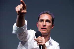 It's Matthew McConaughey.