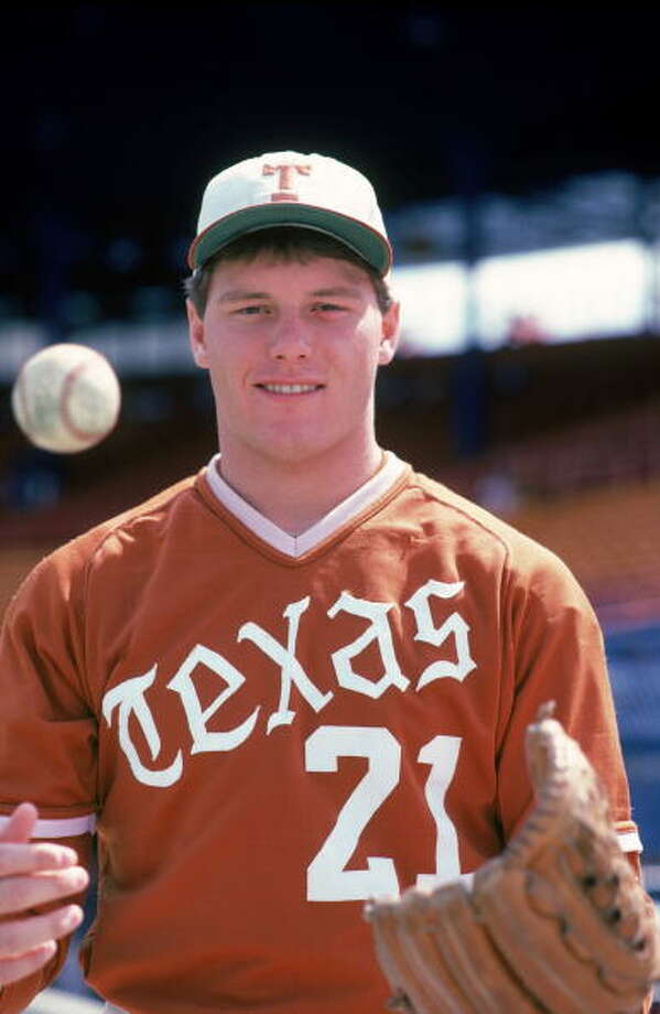 Every Longhorn worth his horns ought to recognize this pitcher. Photo: Rich Pilling, MLB Photos Via Getty Images / 1982 Rich Pilling