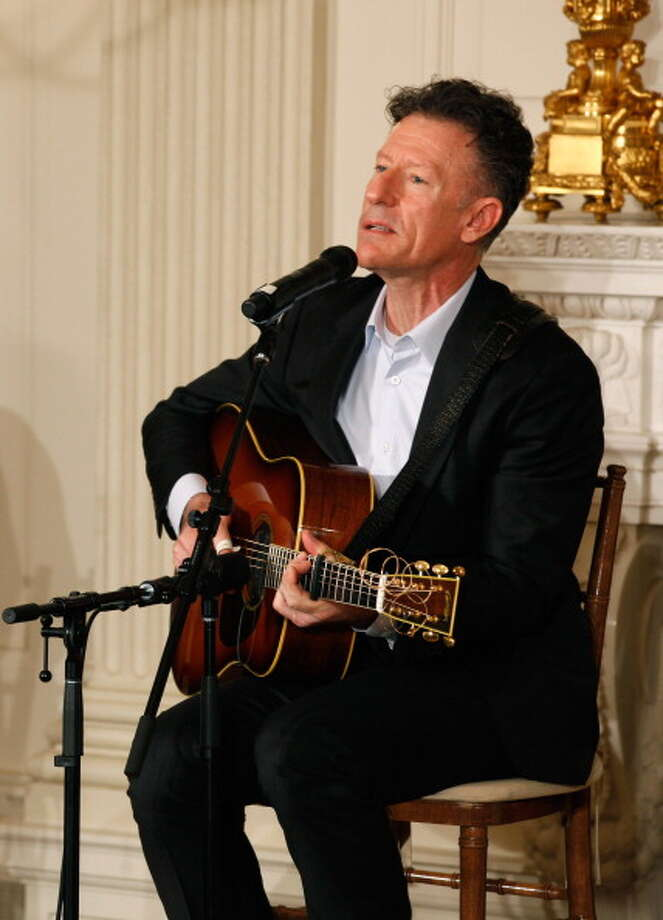 It's Lyle Lovett. Photo: Chip Somodevilla, Getty Images / 2011 Getty Images