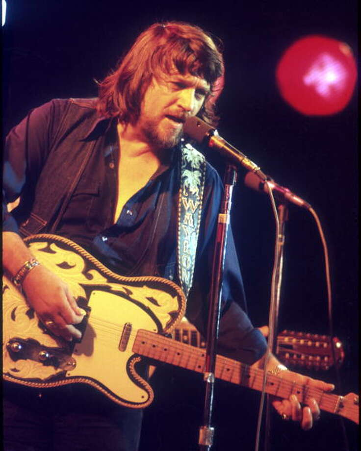 It's the late Waylon Jennings. Photo: Michael Ochs Archives / Michael Ochs Archives