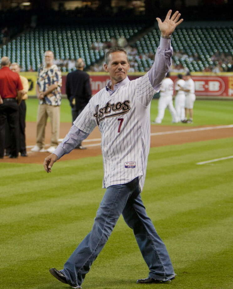 It's Craig Biggio. Photo: Bob Levey, Getty Images / 2012 Getty Images