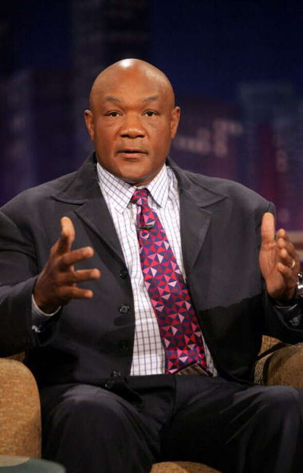 It's George Foreman. Photo: Jesse Grant, WireImage / WireImage