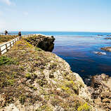 """Greatest hike, Point Lobos Some will question artist Francis McComas's proclamation that Point Lobos is """"the greatest meeting of land and water in the world."""" But not after doing a grand-tour hike along Point Lobos State Natural Reserve's shoreline trails. The roughly 5-mile loop hike (use the South Plateau Trail as a connector) shows off Point Lobos's diverse beauty: China Cove's jade-colored water, wind-sculpted Monterey cypress, and sea otters feeding in kelp beds. $10/vehicle; 3 mi. south of Carmel; pointlobos.org Read more: Top road trips in California"""