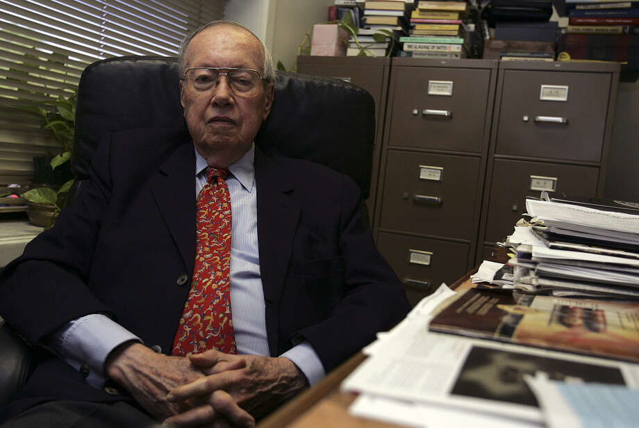 Readers thank historian T.R. Fehrenbach for years of insightful columns. Photo: Express-News File Photo