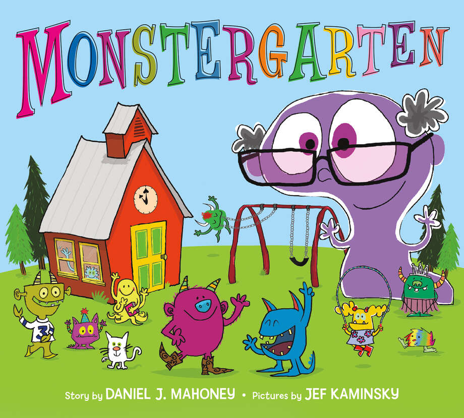 Monstergarten, written by Albany's Daniel J. Mahoney, was distributed by a major children's book publisher this year. But unlike other book's Mahoney's done, he wasn't the illustrator. (Feiwel and Friends)