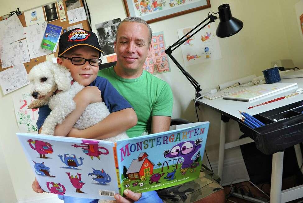 Daniel Mahoney, author of the children's book