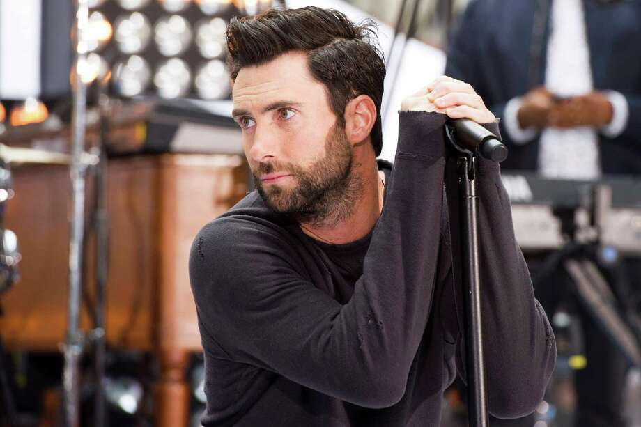 "Maroon 5 lead singer Adam Levine performs on NBC's ""Today"" show on Friday, June14, 2013 in New York. (Photo by Charles Sykes/Invision/AP) Photo: Charles Sykes / Invision"