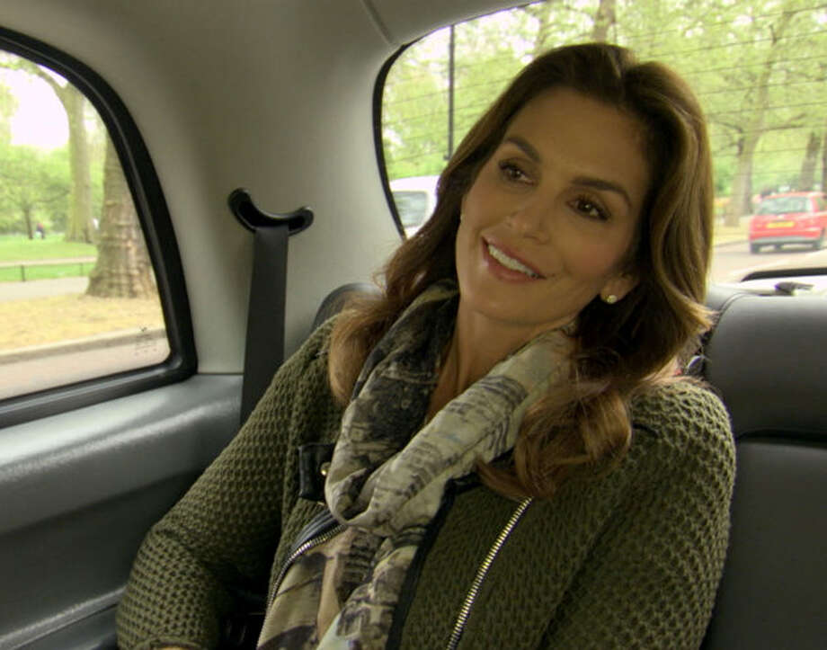 "Cindy Crawford visited Connecticut for filming of a recent episode of TLC's ""Who Do You Think You Are?"""