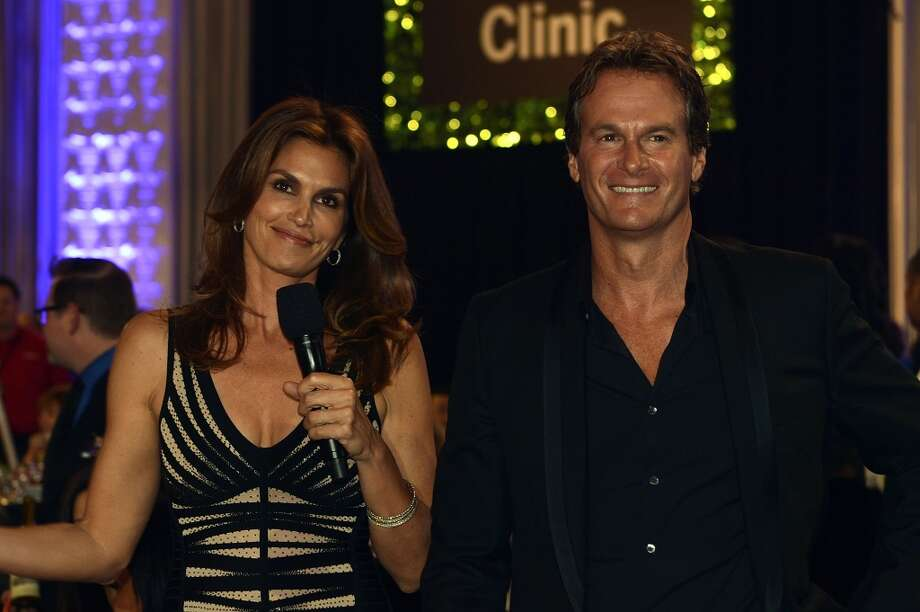 "LAS VEGAS, NV - APRIL 13:  Model Cindy Crawford (L) and her husband Rande Gerber attend the 17th annual Keep Memory Alive ""Power of Love Gala"" benefit for the Cleveland Clinic Lou Ruvo Center for Brain Health celebrating the 80th birthdays of Quincy Jones and Sir Michael Caine on April 13, 2013 in Las Vegas, Nevada.  (Photo by Denise Truscello/Getty Images for Keep Memory Alive) Photo: Denise Truscello, Getty Images For Keep Memory Ali"