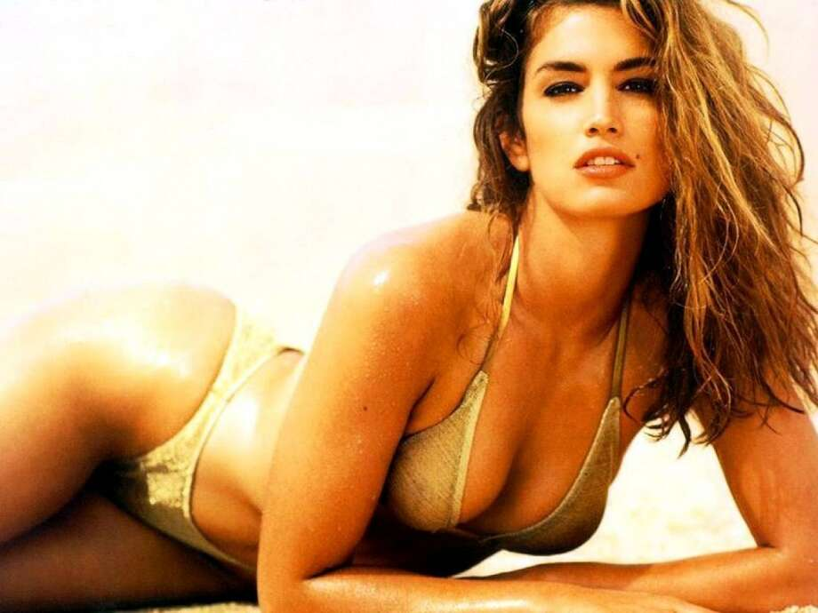 Cindy Crawford in her heyday, when she wasn't sounding clunky on screen.