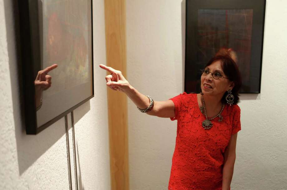 Known for her photo collages, photographer Kathy Vargas is having an exhibit at Rendon Photography and Fine Art for FotoSeptiembre. It will be her first exhibit in San Antonio in several years. Photo: San Antonio Express-News / ©2013 San Antonio Express-News