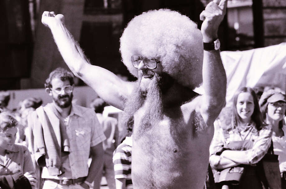 Armpit hair was in glorious display at Bumbershoots in the '70s. (Bumbershoot, 1979).  Photo: -