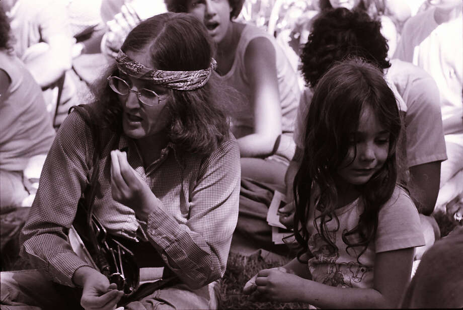 headbands with no irony, and ... (Bumbershoot, 1979).  Photo: -