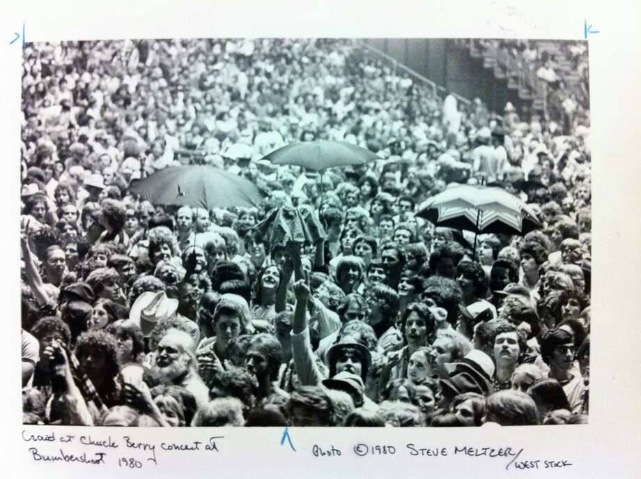 More of the same: Big crowds. This is a Chuck Berry concert at Bumbershoot in 1980.  Photo: -