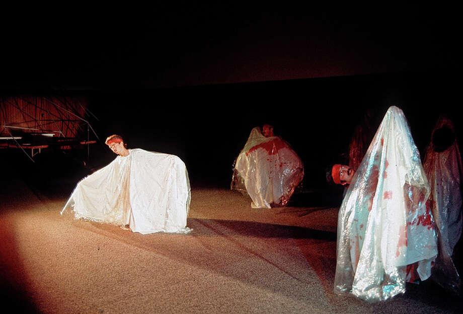 ... to interpretive dance involving sheets and headbands, and ... (Bumbershoot, 1973).  Photo: -