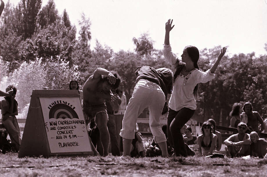 "The ""NW Choreographers and Composers Concert""  at Bumbershoot, 1974.  Photo: -"