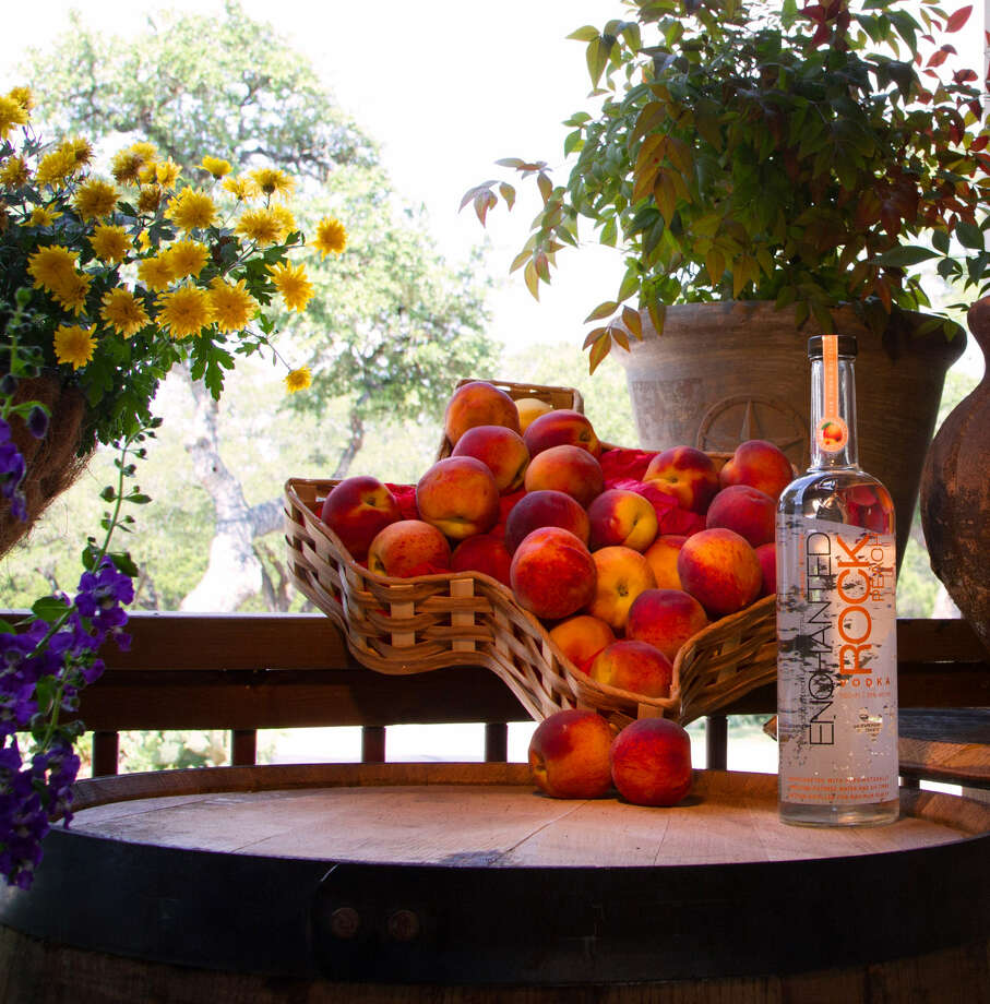 San Antonio's Rebecca Creek Distillery will release a new product, Enchanted Rock Peach Vodka, in September. Photo: Courtesy Photo