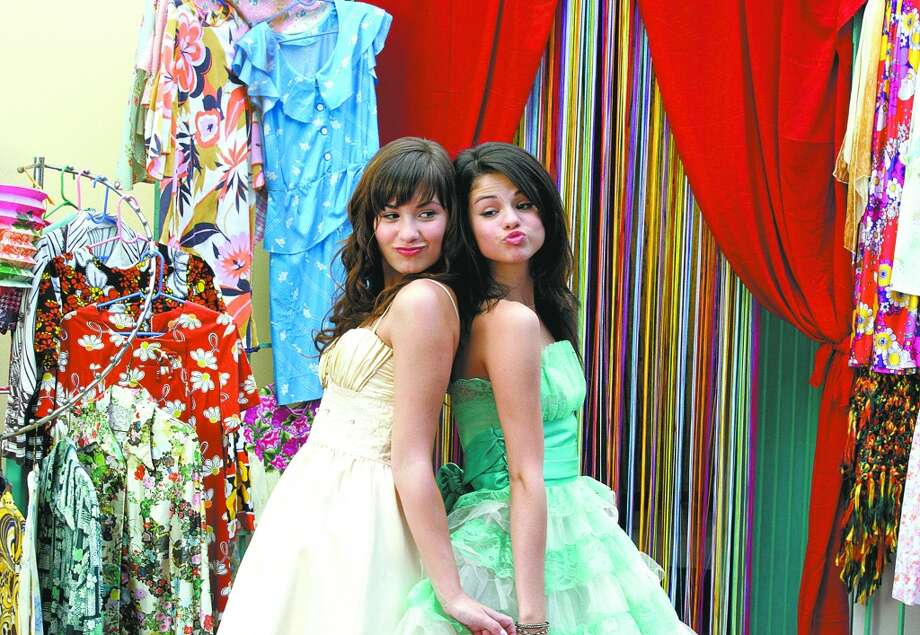 """Above: Demi Lovato and pal Selena Gomez starred in the """"Princess Protection Program"""" on the Disney Channel. Photo: ROMAN FRANCISCO, DISNEY CHANNEL"""