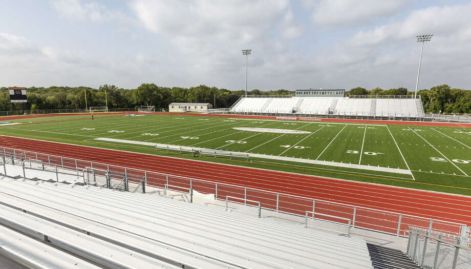 With Alamo Stadium closed for renovations, the Wheatley Heights Sports Complex at 1023 Upland Road (pictured) will host 14 games this season. The SAISD complex at Burbank High School will host 21 games. Photo: Marvin Pfeiffer / For The Express-News