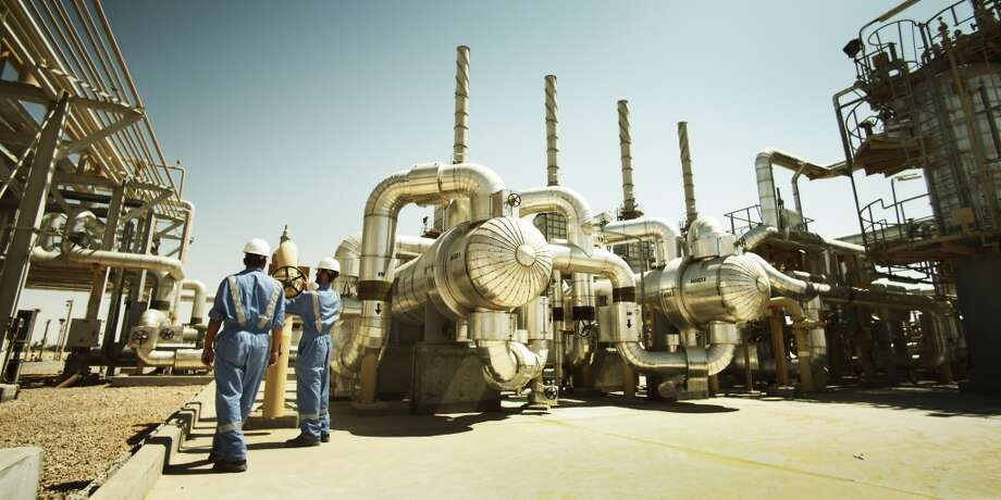 Salam natural gas plant on Apache's Khalda Concession in Egypt's Western Desert. Photo: Apache Corp.