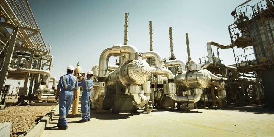 Salam natural gas plant on Apache's Khalda Concession in Egypt's Western Desert. Photo: Apache Corp.