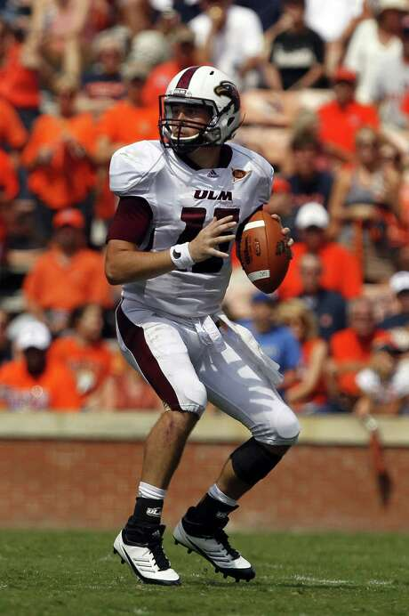 Louisiana-Monroe QB Kolton Browning threw for 3,049 yards and produced 36 touchdowns last year. Photo: Butch Dill / Associated Press