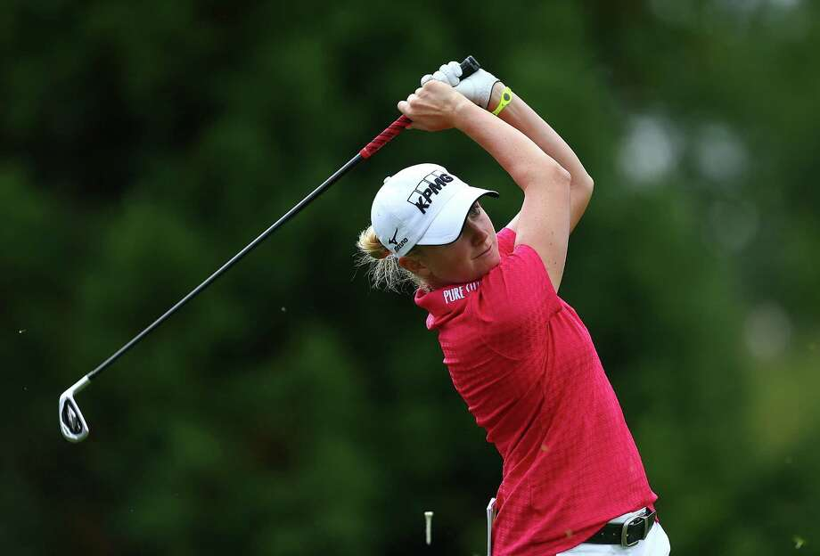 Under the weather a week ago, Stacy Lewis was on top of her game Thursday, carding a 5-under 67. Photo: Jonathan Ferrey, Stringer / 2013 Getty Images