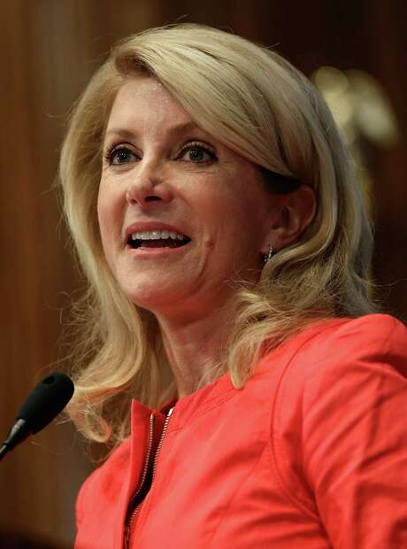 State Sen. Wendy Davis, D-Fort Worth, has put together a campaign war chest of about $1.3 million, mostly from small donations. Photo: Getty Images