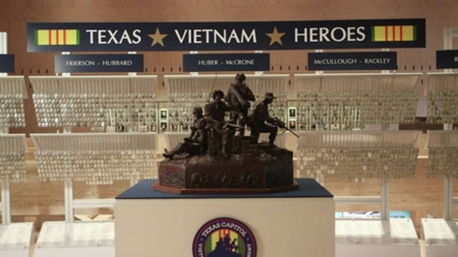 Featuring 3,418 dog tags, representing Vietnam War veterans who died during the war, will be on display at Edison Plaza, located at 350 Pine St. in Beaumont. The exhibit -- The Texas Vietnam Heroes Exhibit -- is part of The 3,417 Project. Photo: Photo Provided By